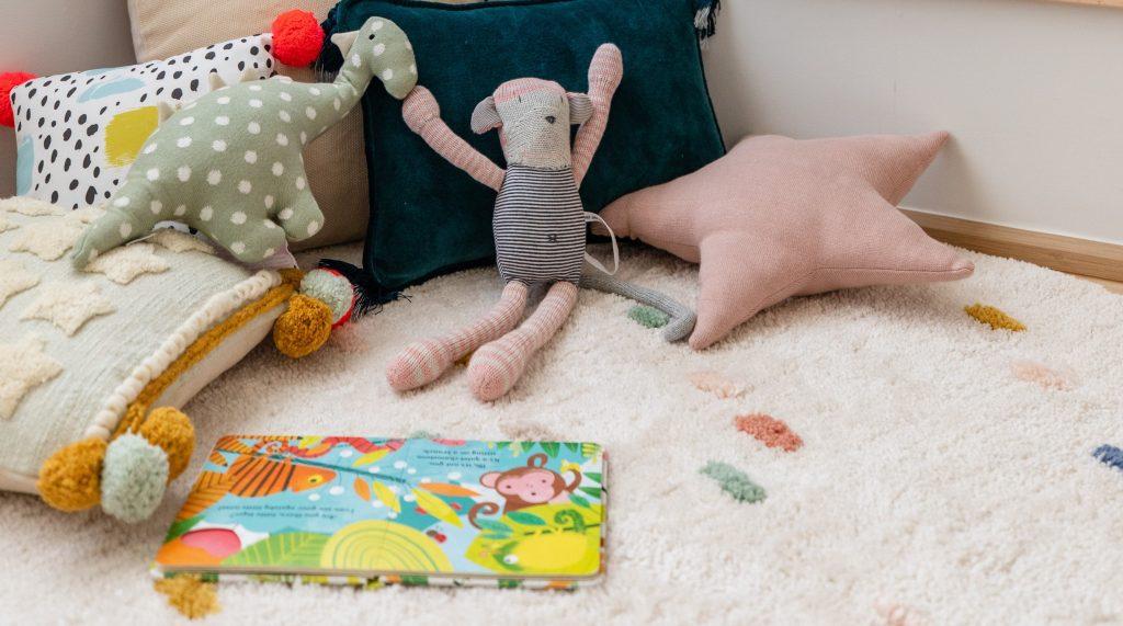 nursery area stuff toy