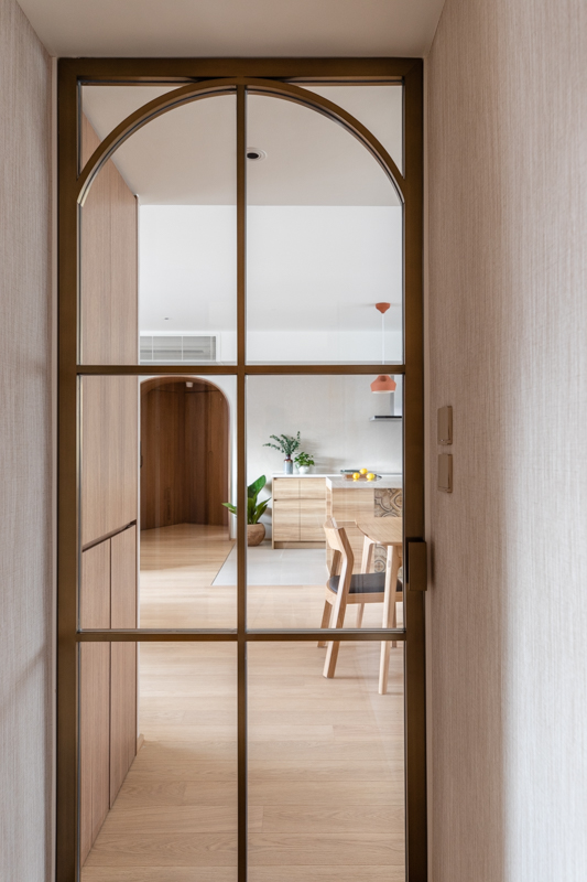 modern spanish interior glass doors acoustic privacy