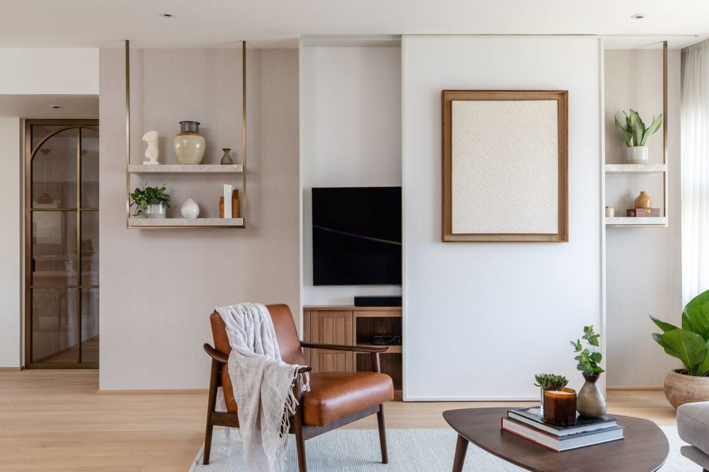tech free option concealed tv